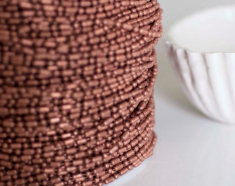 Bamboo Chain Copper color -5mm - Lead free and nickel free