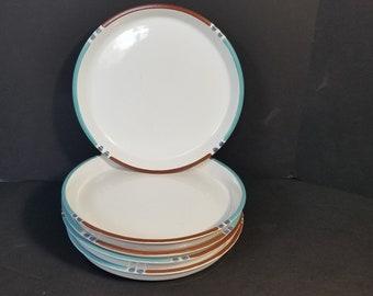 Vintage DANSK White Sand Mesa Coupe Dinner Plates Set of Retired Pattern & Dansk mesa | Etsy