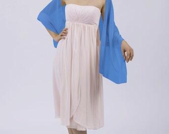 Powder Blue Shawl perfect for Weddings by Matchimony