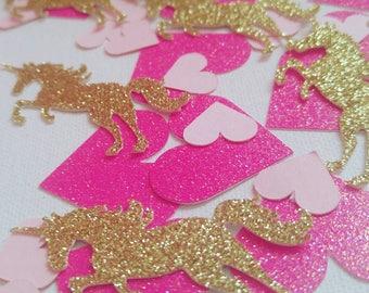 Unicorn Confetti, Unicorn birthday, Unicorn