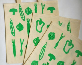 Forever Calico Vegetable Bags