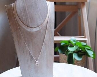 Lucky silver necklace