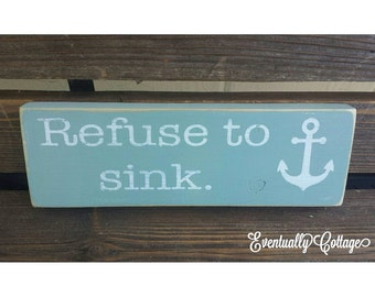 Refuse to Sink anchor block