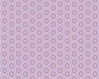 Oval Elements in Amethyst - 1/2 Yard - Art Gallery Fabric