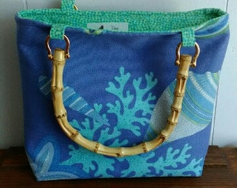 Coral Reef Open Tote Bag