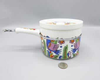Royal Crown Paradise Japan Saute Pan Arnet #3728 Psychedelic Mod 1960s