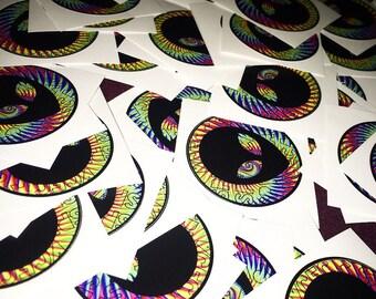 Spvcecase swirl // round sticker