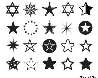 Star SVG , star clipart, Star Svg, dxf, png, pdf, eps, star digital download svg, Stars svg, star vector, Star silhouette svg,Star cut files