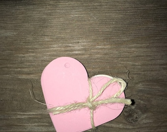 Heart Tags 50-Pack