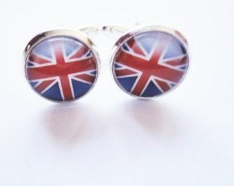 Cufflinks Union Jack