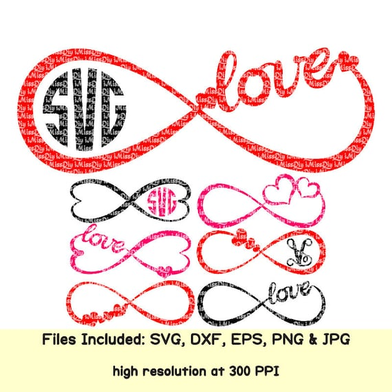 Wedding Infinity Symbol Svg Heart Love Svg Marriage Signs Mr And Mrs