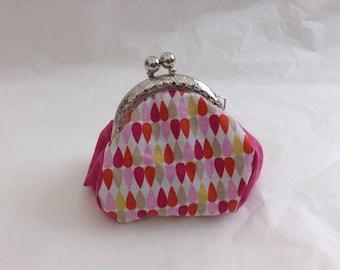 Mini purse Vintage rose drops