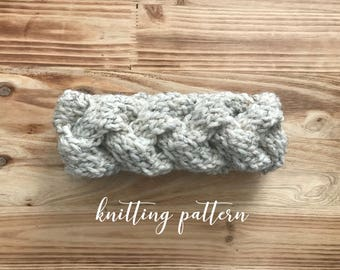 BRIGHTON HEADBAND || Knitting Pattern