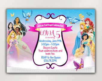 Magical Character Invitation disney world invite character