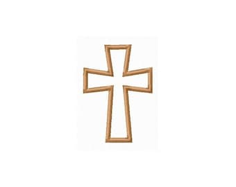 Instant Download Cross Embroidery Machine Applique Design-848