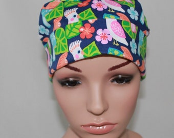 See You Later,Surgical Scrub Hat, Chemo  Hat , Women's Surgical Scrub Hat,Vet,Vet Tech, OR  Scrub Hat,Scrub Cap
