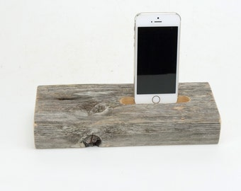 On Sale! Docking Station for iPhone, iPhone Charger, iPhone Charging Station, iPhone driftwood dock, wood iPhone dock/ Driftwood-No. 900