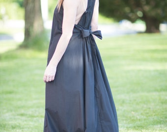 Maxi Dress, Plus Size Clothing, Sleeveless Dress, Dresses Summer, Long Dress, Womens Clothing, Black Maxi Dress, Cotton Dress - DR0273CT