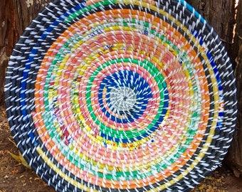 Bright Multi-colored Basket