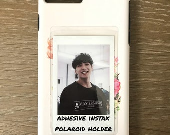 adhesive instax polaroid pocket sleeve