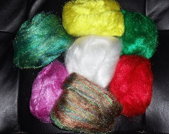 Firestar synthetic fiber solid and multicolors