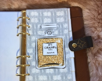 All I Want Fashion Accessories Personal, Pocket, A5 Filofax Dividers Dashboards, Planner Accessories, Agenda Divider, Set of 6