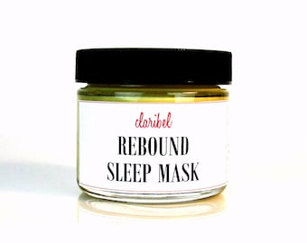 Rebound Sleep Mask & Gel Based Moisturizer | Regenerate and Renew