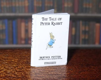 Dolls House Miniature Book - The Tale of Peter Rabbit