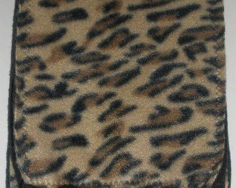 Cheetah Fleece Scarf