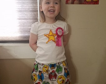 Handmade Little Girl Paw Patrol Outfit