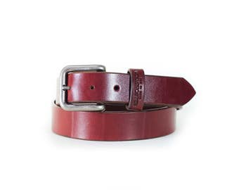 Williamson Classic Leather Belt - Brown