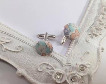 Fabric Liberty Michelle - man cufflinks