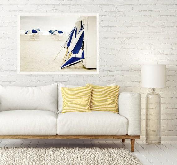 Beach Print, Cindy Taylor Photography, Fine Art Photography, Coastal Home Decor, Wall Art, Beach Umbrellas Print