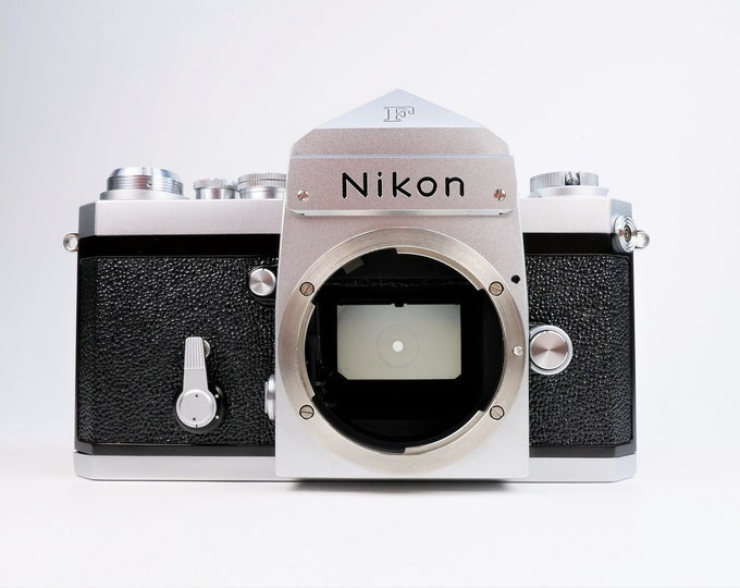Legendary Nikon F 35mm Film Camera - from 1971 - Fully Tested - 100% Working - Super Clean - Mint Condition - One Owner - Nicest One Around!