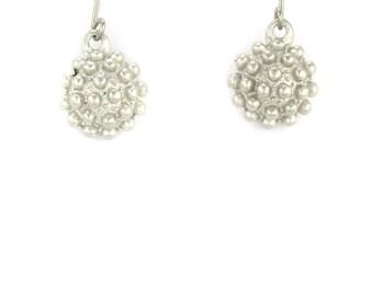 Birdhouse Jewelry - Silver Little Mace Earrings