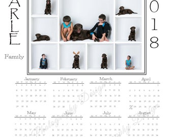 In the Box Photography - Yearly Calendar in various sizes ( 2018 and 2019)