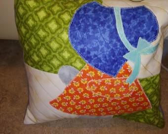 Sunbonnet Sue cushion cover