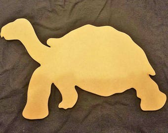 Tortoise, Turtle Wood Cutout, Laser Cut, Zoo Animal Shaped, DIY Unfinished, Crafters, Paint Your Own by Liahona Laser on Etsy