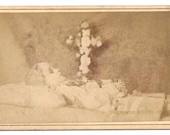 Post Mortem Id'd Willie Murphy Barraud and Jarrard London cdv death oddity