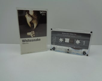Whitesnake Slide It In Cassette