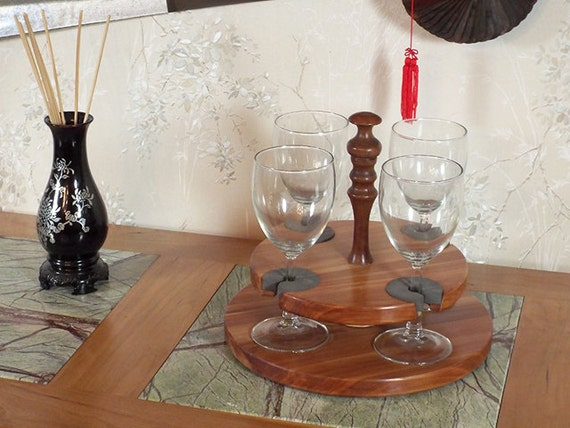 10 - Wine Glass Caddy (only) stemmed (4 station)