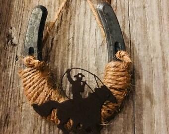 Round 'Em Up Pony Shoe-Cowgirl-Cowboy-Western-Country-Barn decor-Farm-Good luck-Equestrian-Ranch-Horse decor