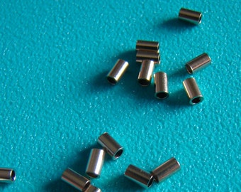 Gold Filled 20k Crimp Tube Beads 2mm x 3mm Quantity of 20