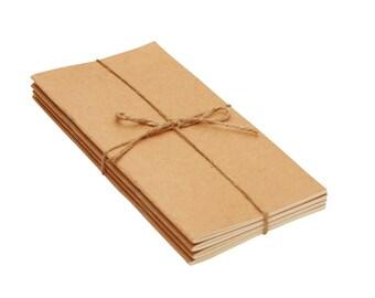 Pack of 3 Standard size Insert - Regular size insert / Midori Insert / Traveler's Notebook Insert / Fauxdori Insert - Premium paper