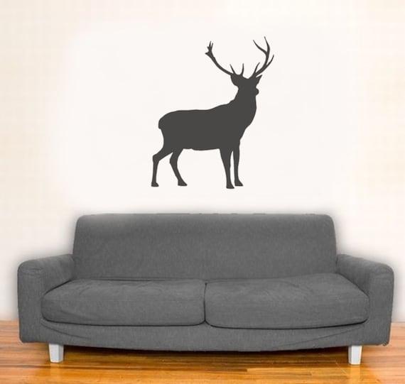 Stag Stencil Deer Decor Painting Stencil Wall Décor