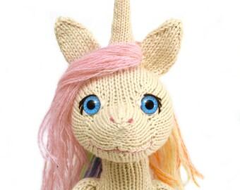 Unicorn and Fairy Knitting Pattern