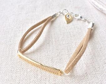 Gold bracelet, gold bar bracelet, gift for wife, gift for mom, bar bracelet, stacking bracelet, skinny bracelet, bracelets, skinny bracelet