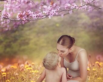 Mothers'Day Spring digital background
