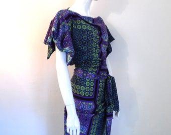 bg SALE Burbo 'Mosaic' Georgia dress