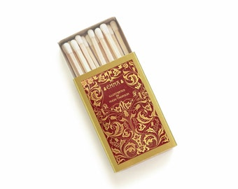 Emma Matchbox. Jane Austen Literary Matches. Bookish Memento. Book Club / Book Lover Gift. Candle Accessory. Classic Book / Library Decor